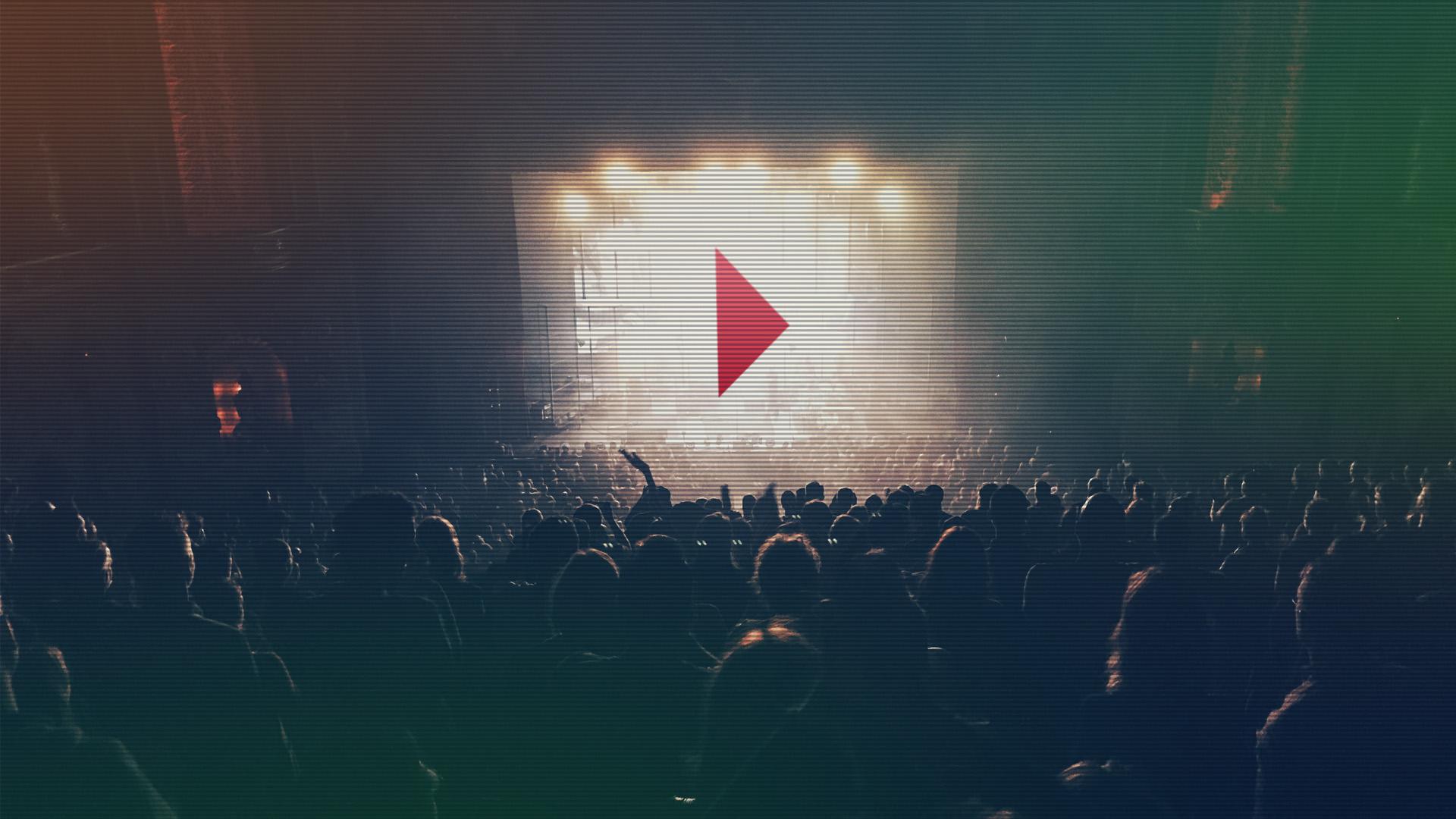 vídeos geram grande público