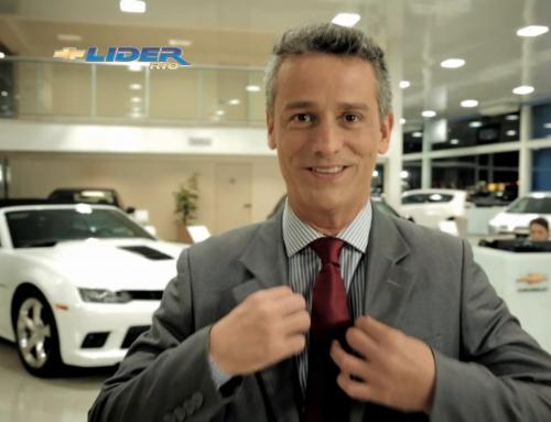 Líder Chevrolet – Apresentador